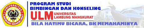 PROGRAM STUDI BIMBINGAN KONSELING UNIVERSITAS LAMBUNG MANGKURAT